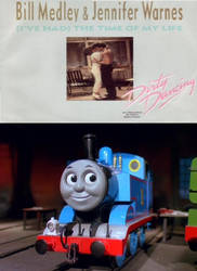 Thomas enjoys (I've Had) The Time of My Life by JamestheRedEngine91