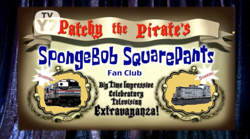 spongebob patchy the pirate house