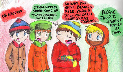 South Park: Christmas Cookies by FoxyRoxy237
