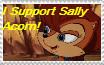 Sally Acorn stamp by HTFNeoHeidi