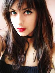 Miss Red Lips by Tharwaithiel