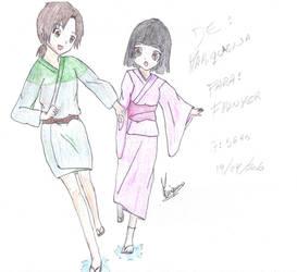 enma ai and sentarou by UchihaTea