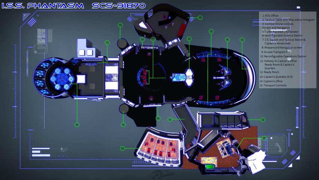 ISS Phantasm Deck plan- by Spydraxis01