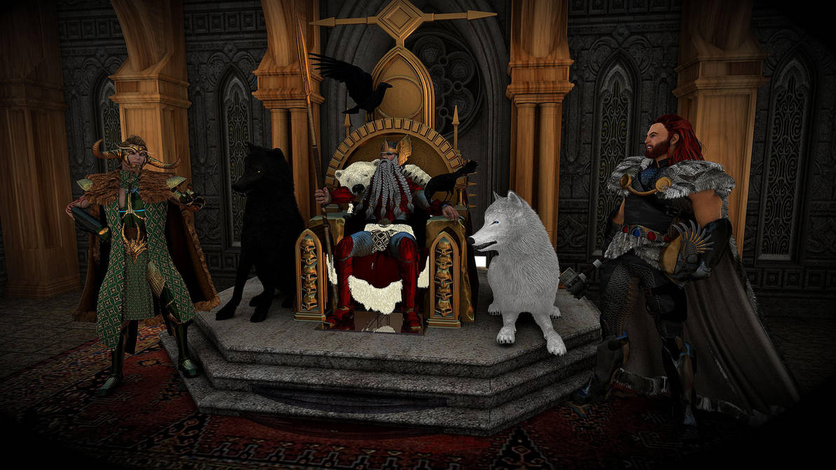 Throne of Asgard Redux by Spydraxis01