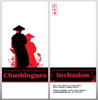 Chushingura Invitation by eep