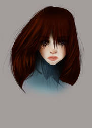 Sulk Portrait by eep