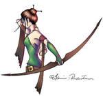 archer: colour by eep