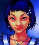 Kawaii Girl.coloured.Artgerm by eep