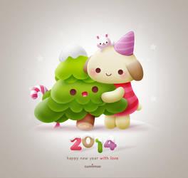 Happy New Year 2014 by Cappippuni