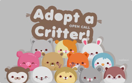 Adopt A Critter Open Call-540 by Cappippuni