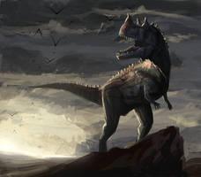 Ceratosaurus_1 by SADistikKnight