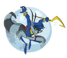 Sly Cooper by XxMoonlightWolveXx