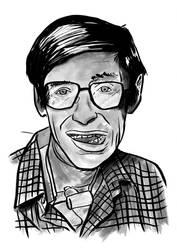 Stephen Hawking by LeyssenotG