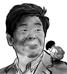 Isao Takahata by LeyssenotG