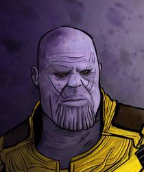 Thanos by LeyssenotG