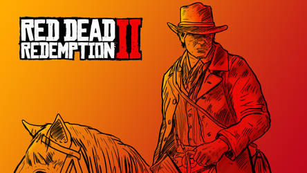 Red dead redomption 2 by LeyssenotG