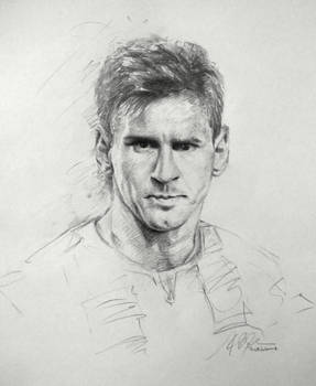 f89081a8c90 Lionel Messi Sketch Drawing