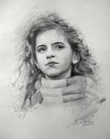 Hermione Sketch by SongDuong
