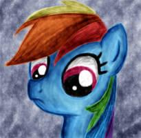 Rainbow Dash by HeavyMetalBronyYeah