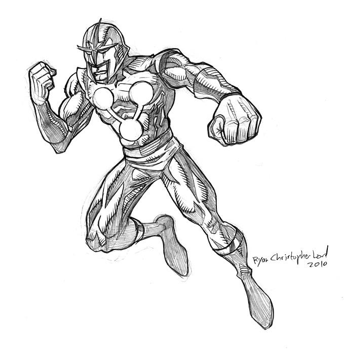 Nova Sketch By Ryan Lord By Ryanlord On Deviantart