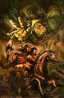 Conan and the Grey God by Kotz by RyanLord