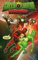 Green Lantern and Deadpool by RyanLord