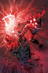 Thor VS Hulk by Pacheco by RyanLord