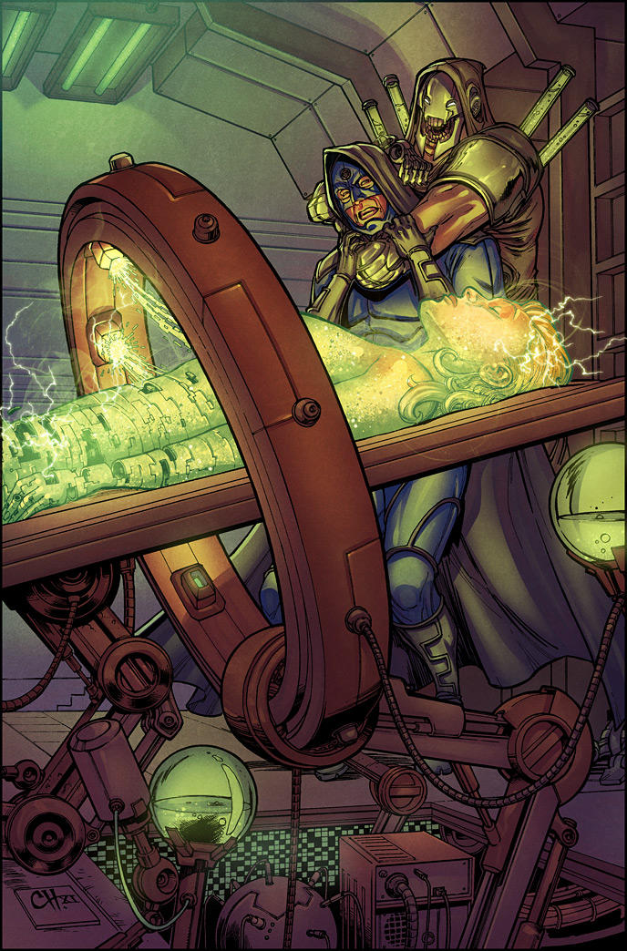 TRAVELER 8 Cover Colors by RyanLord