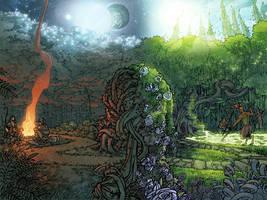 Baeg Tobar - Gates of Eternity by RyanLord