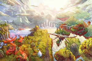 Baeg Tobar: The Dreaming Lands by RyanLord