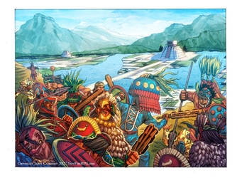 Aztec Battle - New Fire RPG by RyanLord