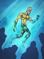 Aquaman iPad by Ryan Lord by RyanLord