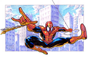 Spider-Man Ink and Markers by RyanLord