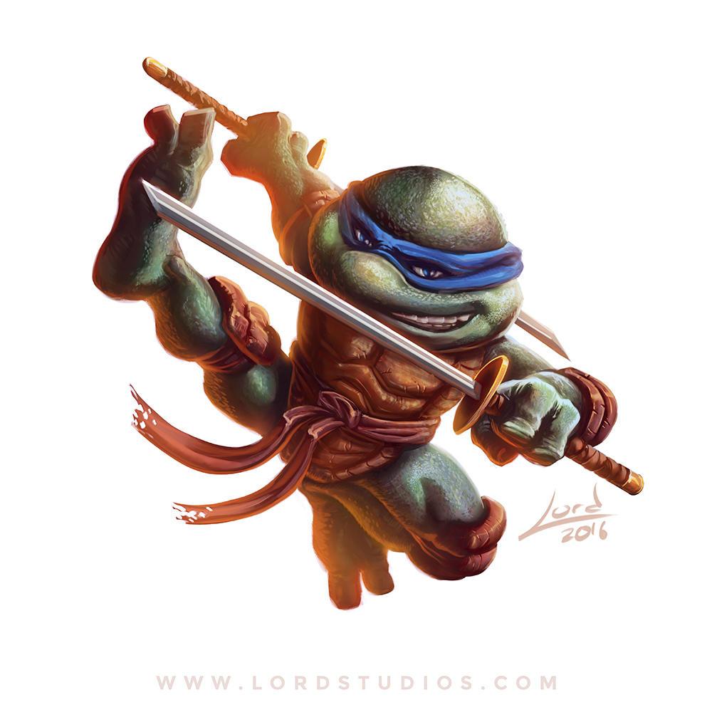 Leonardo Teenage Mutant Ninja Turtles by RyanLord