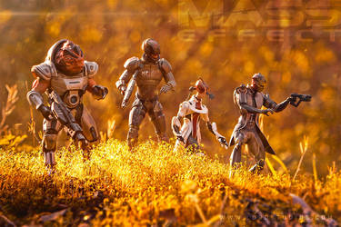 Mass Effect Toy Photography by RyanLord