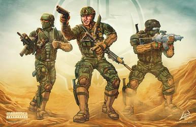 Marauder Task Force Range Ops by RyanLord