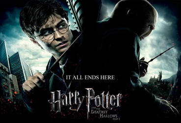 harry potter 7 poster by diher