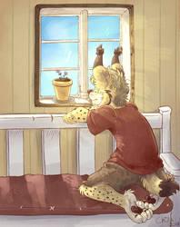 Pensive by Skogskisse