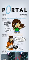 Portal Meme by PrincessAirionna565