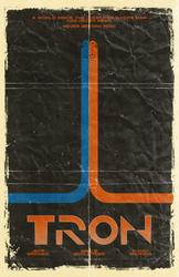 TRON Poster LARGE by tikiman-akuaku