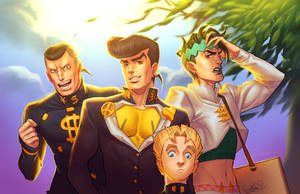 DIAMOND IS UNBREAKABLE by Pirate-Cashoo