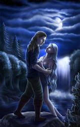 Painted in Silver Moonlight by Aerhalev