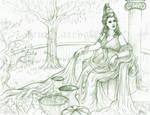 Dea Roma sketch by Aerhalev