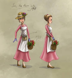 Flower Lady Concept by Aerhalev