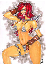 Red Sonja By Eu by danillofernandes