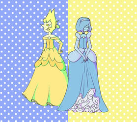 Steven Universe (Pearl Princesses by NoppaNapero