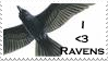 raven stamp by OmbroParanojo