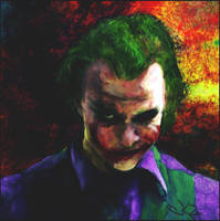 Joker  Why So Serious by K-kare