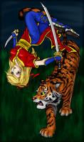 Tigress - Color - by ksiazeAikka