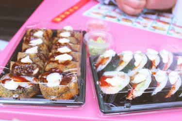 Sushi by DoaaAlasafra